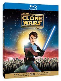 Star Wars The Clone Wars Blu ray Disc, 2008, 2 Disc Set
