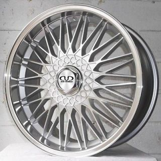 18 AUDI TT 1998 2006 COUPE DVD 701 DEEP DISH ALLOY WHEELS 5x100