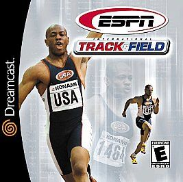 ESPN International Track Field Sega Dreamcast, 2000
