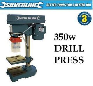 350W ROTARY PILLAR DRILL DRILLING PRESS BENCH MACHINE TABLE 3 YEAR