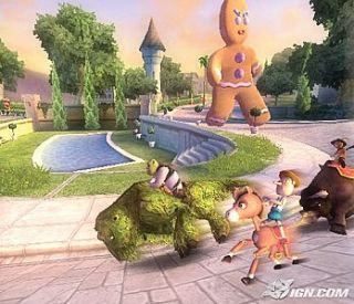 Shrek Smash n Crash Racing Nintendo GameCube, 2006