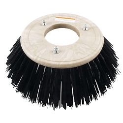 POWER BOSS SWEEPER SCRUBBER 13 INCH 3 S.R. POLY SIDE BROOM BRUSH