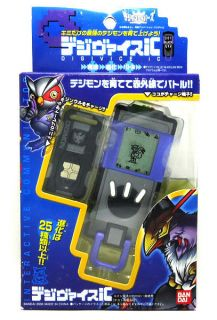 NEW BANDAI DIGIMON SAVERS DIGIVICE iC DATA LINK 201 BLACK RARE