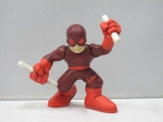 Newly listed SA9 MARVEL SUPER HERO SQUAD DAREDEVIL DARK RED FIGURE