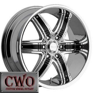 Newly listed 20 Chrome Viscera 777 Wheels Rim 5x127 5 Lug Chevy GMC