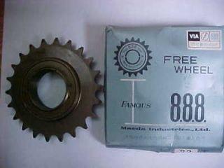 SUNTOUR single freewheel★ 22 T bicycle bike road track fit bmx mtb