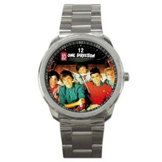 One Direction Shirt Up All Night Boy Band Sport Metal Watch Fit For T