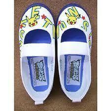 Anime Pokemon Pikachu Cosplay School Shoes Japan Pocket Monster