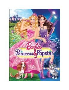 Barbie The Princess the Popstar DVD, 2012