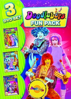 Doodlebops   Family Fun Pack DVD, 2009, 3 Disc Set