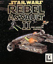 Star Wars Rebel Assault PC, 1993