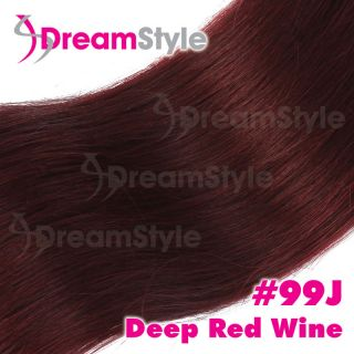 red human hair extensions in Womens Hair Extensions
