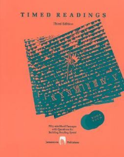 Timed Readings Book Ten Level M Vol. 10 1989, Paperback