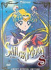 Sailor Moon The Movies   Box Set Trilogy DVD, 2001, 3 Disc Set