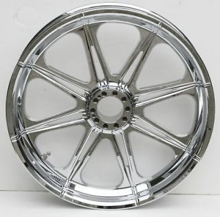 AFTERMATH CHROME WHEEL 23X3.50 AVON TIRE HARLEY DAVIDSON TOURING FLH