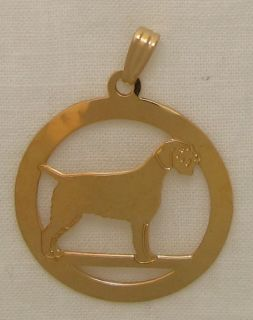 wirehaired pointing griffon jewelry pendant time left $ 32 50