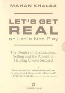 Lets Get Real or Lets Not Play by Mahan Khalsa 2001, CD, Unabridged