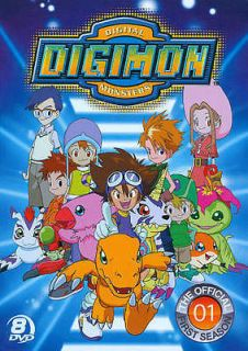 DIGIMON: DIGITAL MONSTERS   THE OFFICAL FIRST SEASON [REGION 1]   NEW