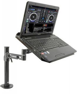 LAPTOP/CD PLAYER DJ PLATFORM TABLE TOP BRACKET CLAMP STAND CITRONIC