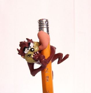 NEW Mini Looney Tunes Taz Tasmanian Devil 1.5 Pencil Topper Figure