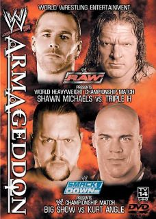 WWE   Armageddon 2002 DVD, 2003