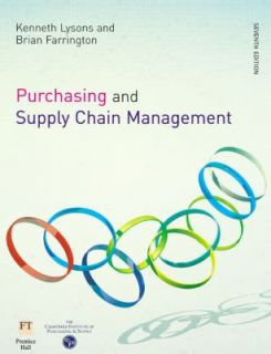 Purchasing and Supply Chain Management by Brian Farrington and Kenneth