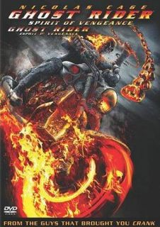 Ghost Rider Spirit of Vengeance DVD, 2012, Canadian