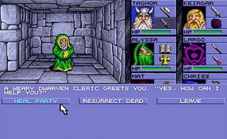 Advanced Dungeons Dragons Eye of the Beholder PC, 1990