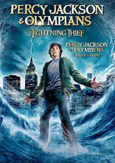 Percy Jackson the Olympians The Lightning Thief DVD, 2010, Canadian