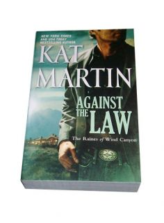 Against the Law by Kat Martin 2011, Paperback