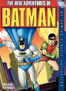 The New Adventures of Batman The Complete Series DVD, 2007, 2 Disc Set