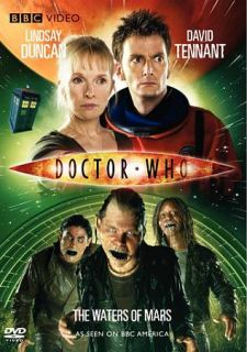 Doctor Who The Waters of Mars (DVD, 201