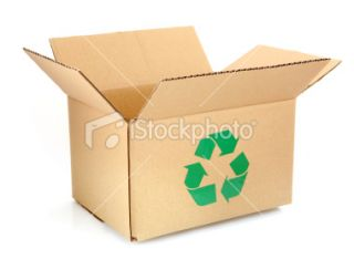 stock photo 14611620 recycle cardboard box