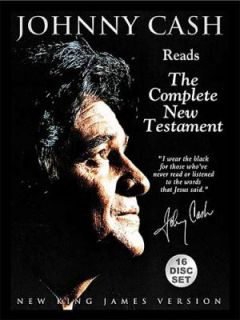 Johnny Cash Reads the Complete New Testament by Johnny Cash 2004, CD