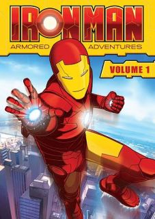 Iron Man Armored Adventures, Vol. 1 DVD, 2009