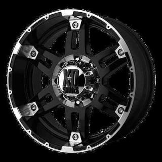 17 XD SPY XD797 MACHINED RIMS WHEELS & NITTO TRAIL GRAPPLER 35X12