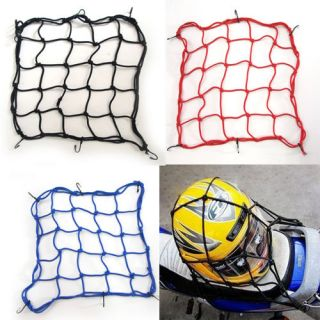 Luggage Cargo Boot Net Bike Motorcycle Helmet Storage Holder Package