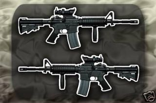 m4 carbine sopmod gun decal sticker m4a1 rifle time left