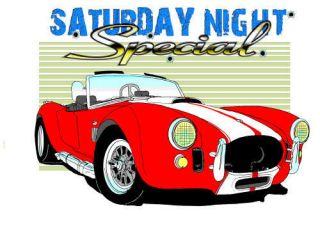 AC Cobra Kit Car Muscle Car Cartoon Tshirt FREE