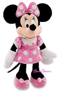 NEW 17  Clubhouse Minnie Mouse Plush Toy Stuffed Doll