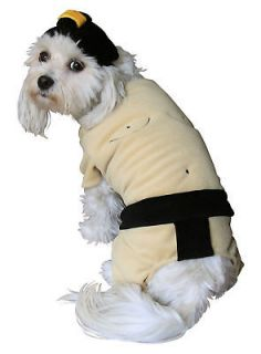 Sumo Wrestler Suit Dog Pet Halloween Costume Apparel Outfit Clothes
