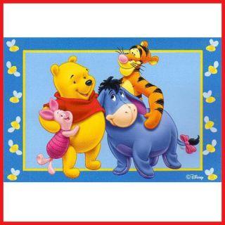 Winnie the Pooh Friends Soft Rug Carpet Accent Mat 72 x 48 Play Mat