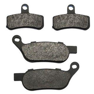 Front & Rear Carbon Kevlar Brake Pads   2009 Harley Heritage Softail