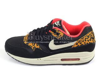 Nike Wmns Air Max 1 Leopard Black/Sandtrap​ Dark Gold Leaf Sunburst
