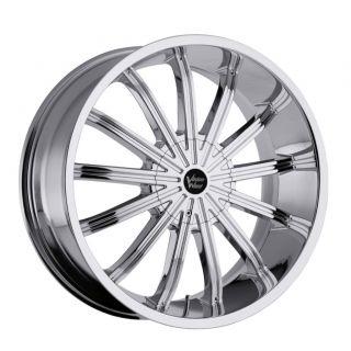 22 in vision xtacy chrome wheels rims 6x5 5 6x139