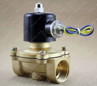 12v dc 1 electric solenoid valve diesel gas water air from china time