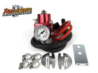 Red Adjustable Fuel Pressure Regulator kit 200sx SR20DET Skyline