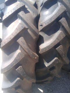 FARMALL A Farm Tractor Tires (2) 9.5x24 w/tubes & (2) 500x15 3 rib w
