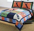 COOL SKATE Full or Queen 7pc QUILT + SHEETS SET   TEEN BOYS SKATEBOARD