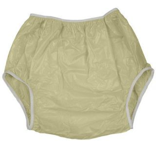 xlarge yellow leakmaster adult pull on plastic pants time left